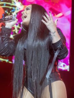 Demi Lovato concert photo