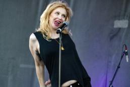 Courtney Love Concert Photo